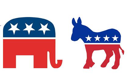 הרפובליקנים והדמוקרטים